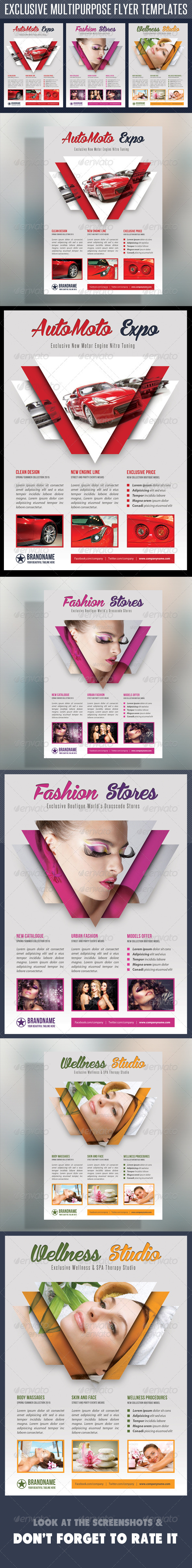 GraphicRiver Multipurpose Product Flyer V04 7919631