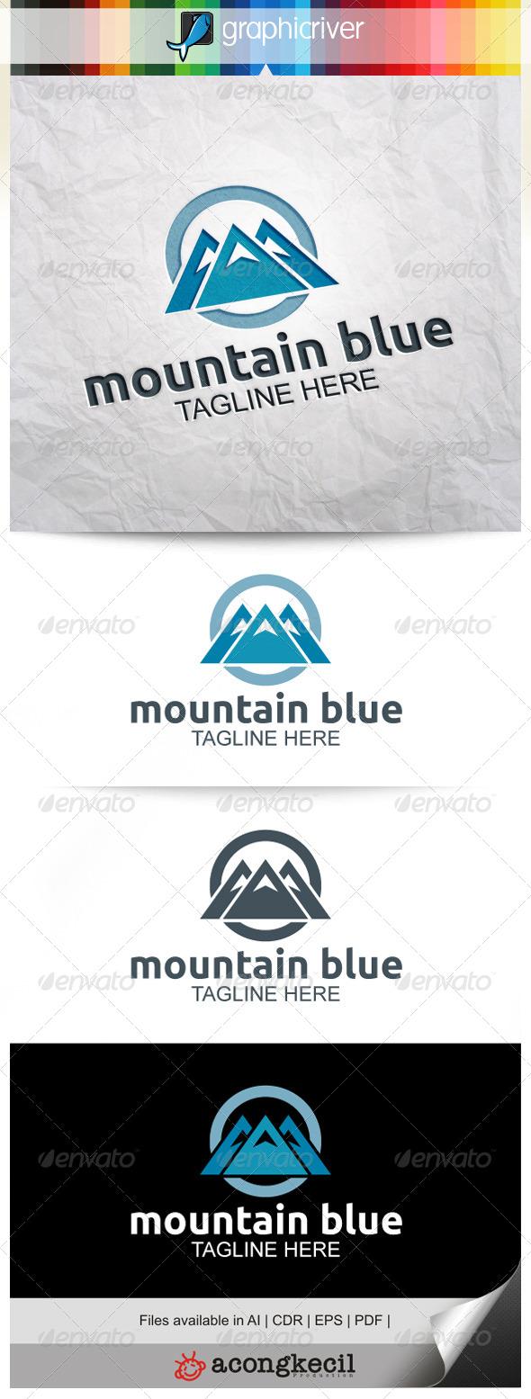 GraphicRiver Mountain Blue 7919965
