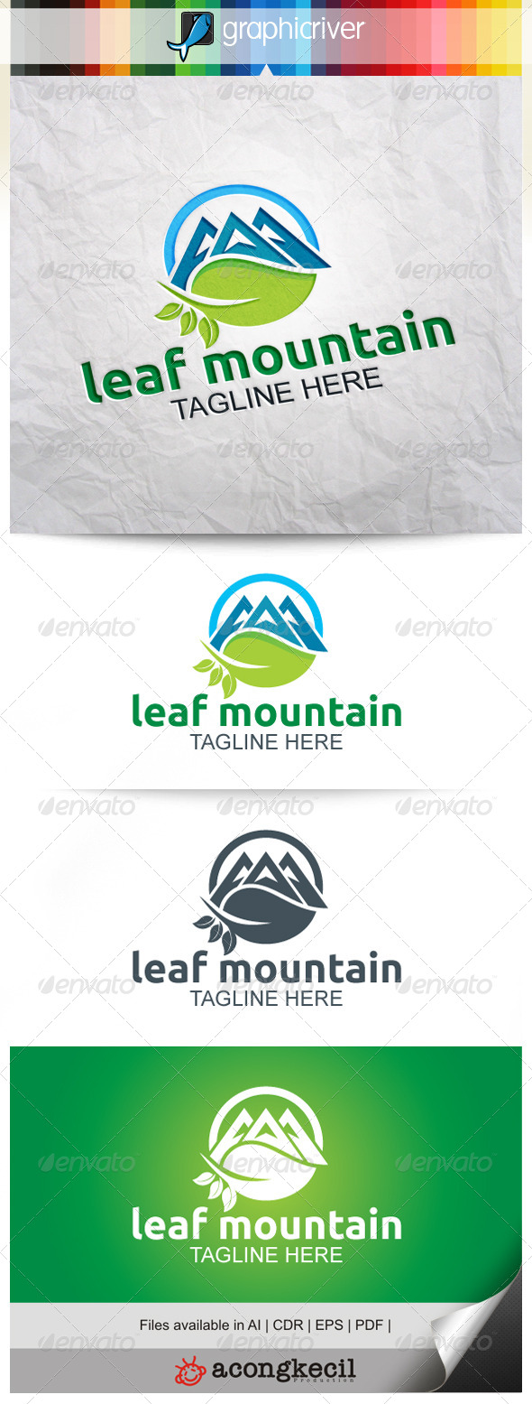 GraphicRiver Leaf Mountain 7919967