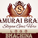 Samurai Brand Logo Template - GraphicRiver Item for Sale