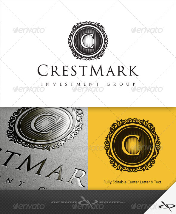 GraphicRiver CrestMark Logo Template 7920654