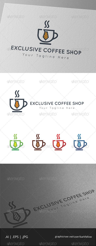 GraphicRiver Exclusive Coffee Shop Logo 7921257
