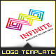 Connection Infinity - Logo Template - GraphicRiver Item for Sale