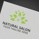 Natural Salon Logo - GraphicRiver Item for Sale
