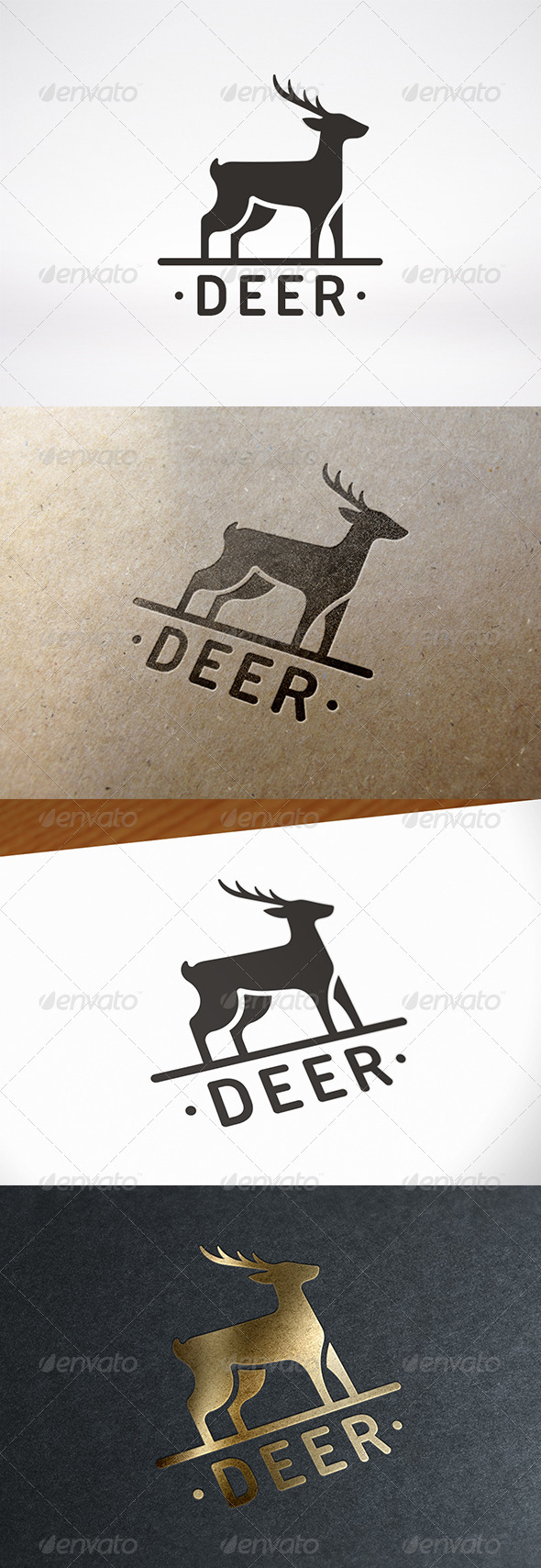 GraphicRiver Deer Logo Template 7921491