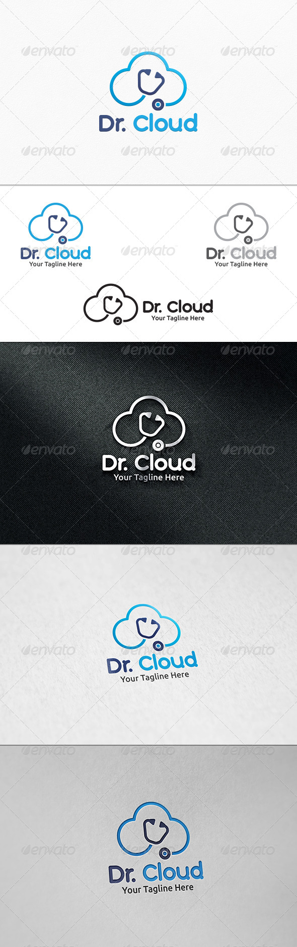 GraphicRiver Doctor Cloud Logo Template 7921530