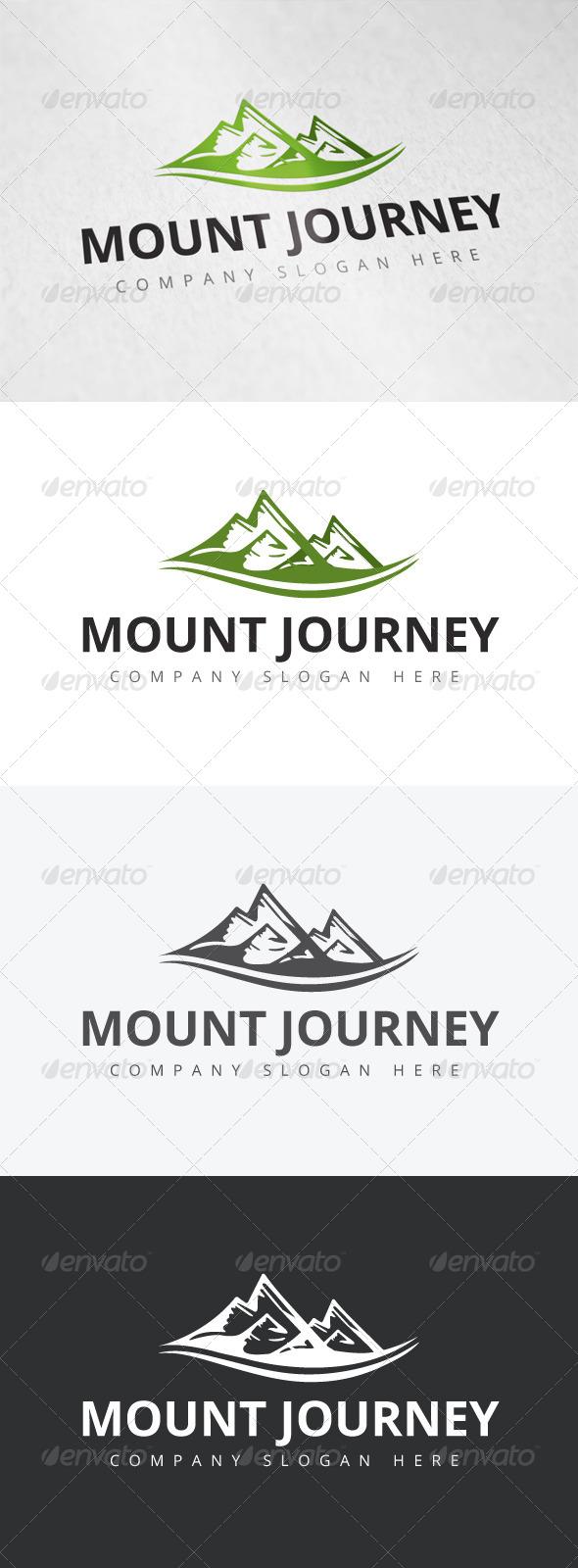 GraphicRiver Mount Journey Logo 7921669