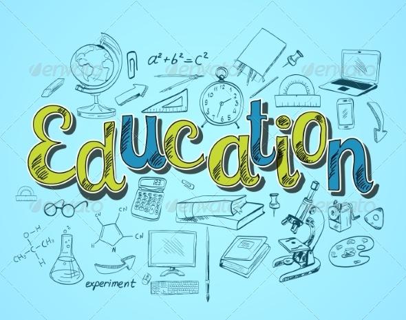 GraphicRiver Education Icon Concept 7921754
