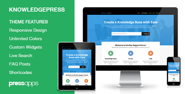 Knowledge Base | Wiki | FAQ WordPress Theme