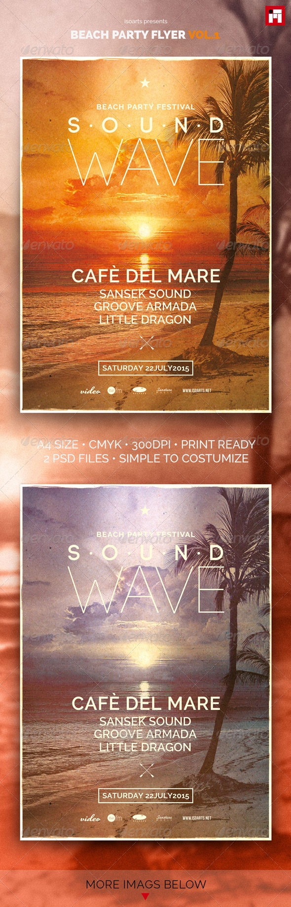 GraphicRiver Beach Party Flyer Vol.1 7922019