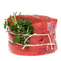 Raw Beef Steak with Herbs Isolated - PhotoDune Item for Sale