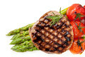 Filet Mignon with Asparagus and Cherry Tomatoes - PhotoDune Item for Sale