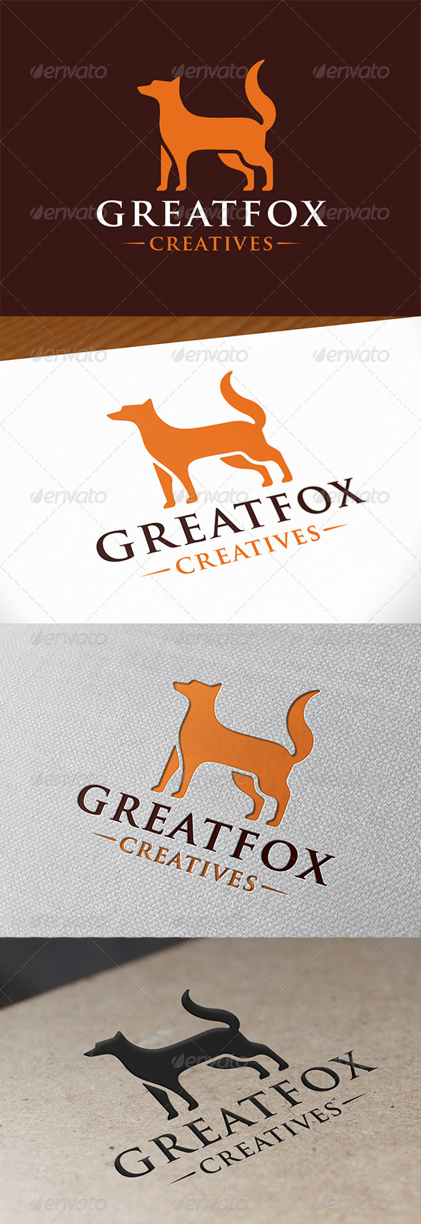 GraphicRiver Fox Logo Template 7922056