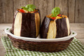 Two Filled Eggplants - PhotoDune Item for Sale