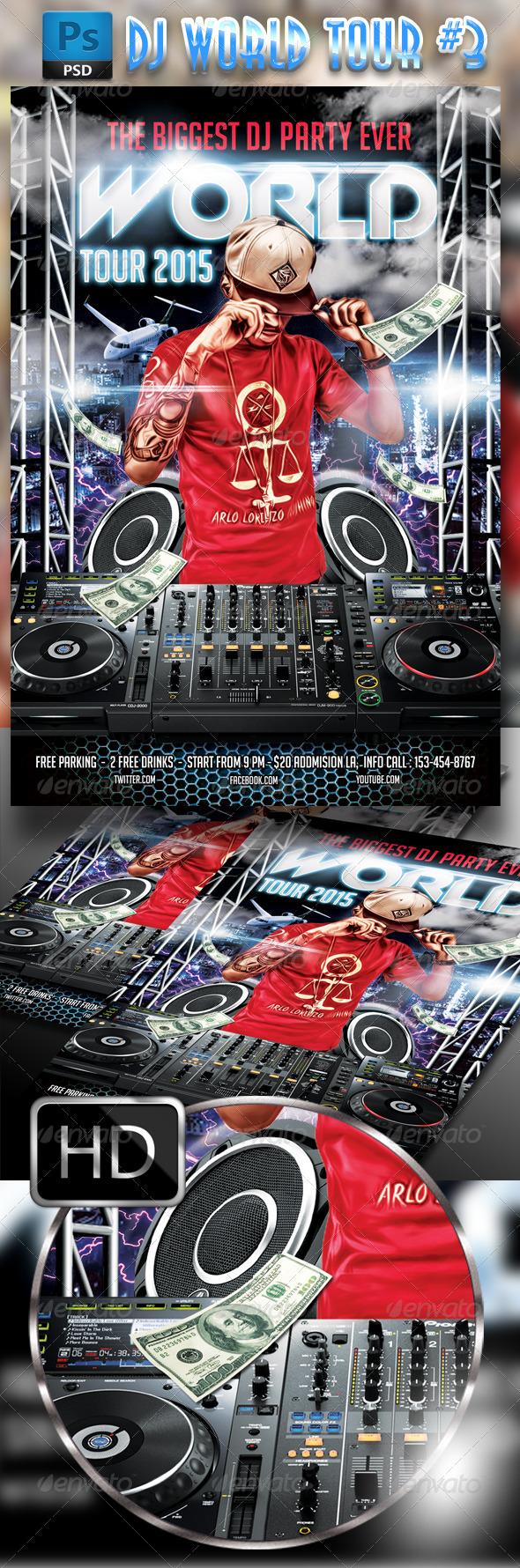 GraphicRiver DJ World Tour #3 7922631