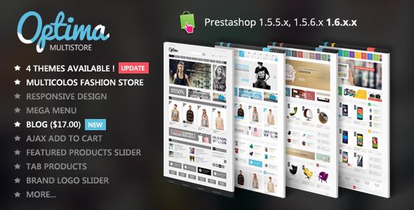 Optima - Multipurpose  Responsive Prestashop Theme - Technology PrestaShop