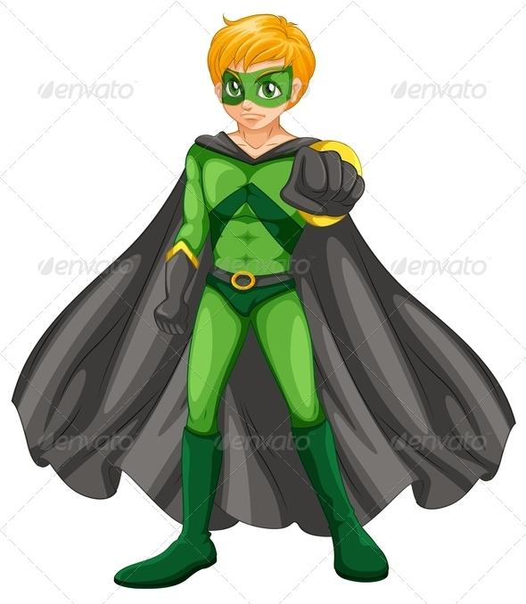 A Handsome Superhero