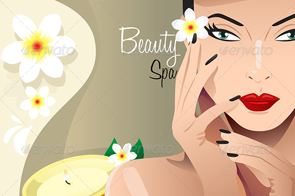 GraphicRiver Beauty Spa Background 7925746