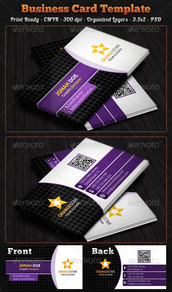 GraphicRiver Corporate Business Card 7925801