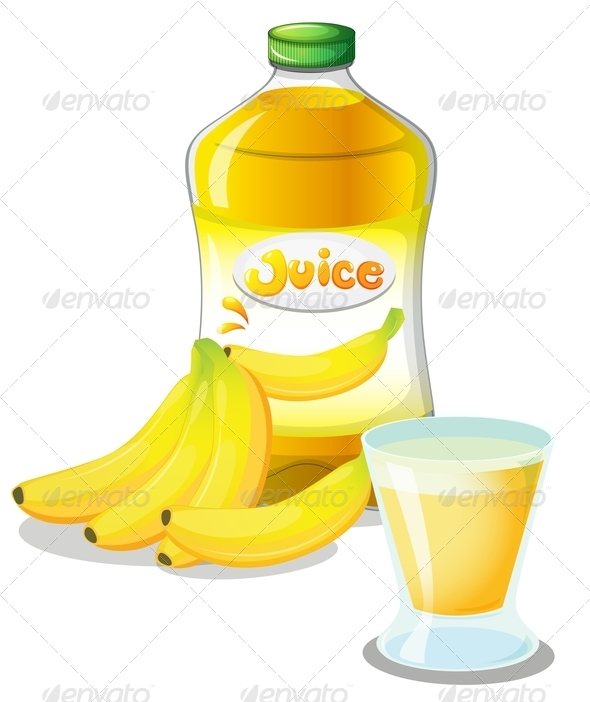 GraphicRiver Banana Fruit Juice 7925841