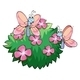 Butterflies with Pink Flowers - GraphicRiver Item for Sale