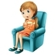 Girl in Chair - GraphicRiver Item for Sale