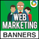 Marketing Banners - GraphicRiver Item for Sale