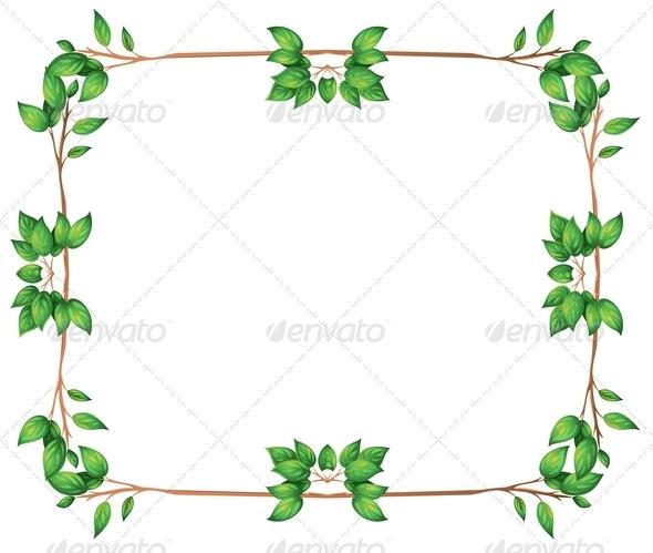 GraphicRiver Empty Leafy Borders 7926308