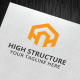 High Structure Logo Template - GraphicRiver Item for Sale