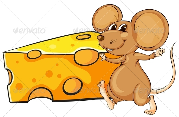GraphicRiver Mouse with Cheese 7926637