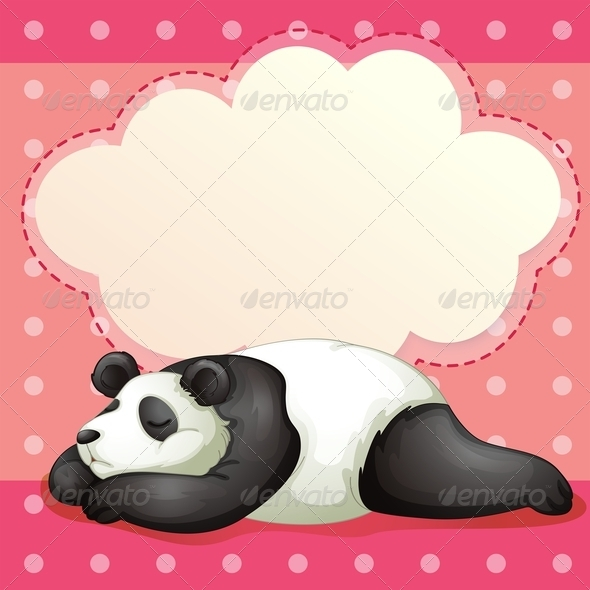 GraphicRiver Bear Sleeping 7926746