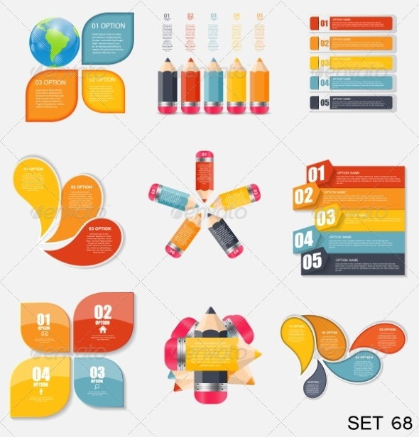 GraphicRiver Collection of Infographic Templates for Business 7926829