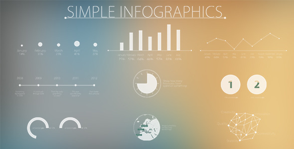 Simple and Modern Infographics by bzone | VideoHive