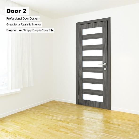 Door 2 - 3DOcean Item for Sale