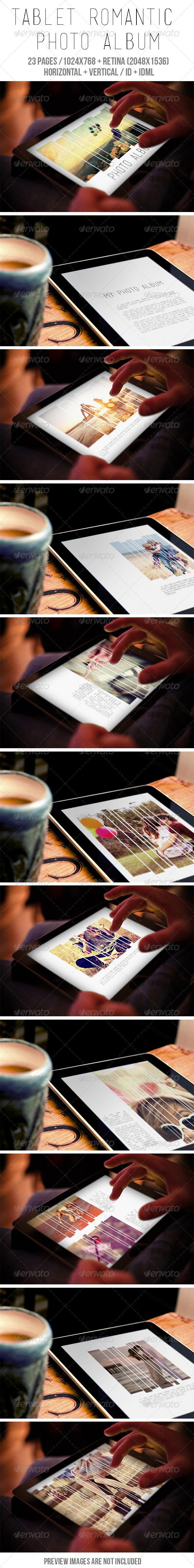 GraphicRiver Tablet Romantic Photo Album 7928500