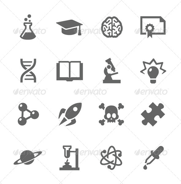 GraphicRiver Science Icons 7928560