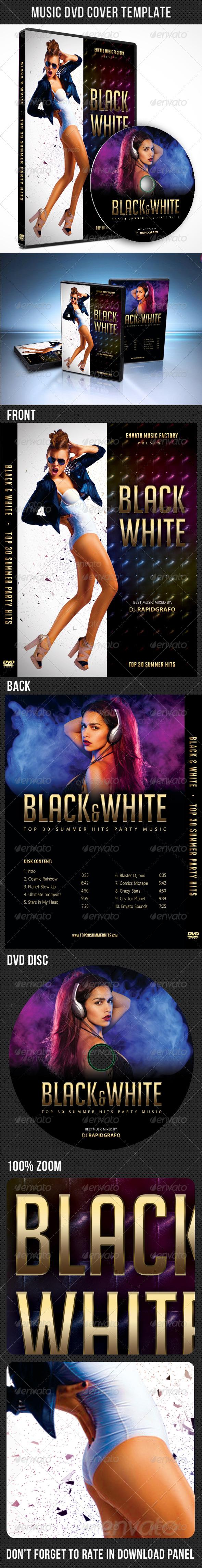 GraphicRiver Music DVD Cover Template V05 7928709