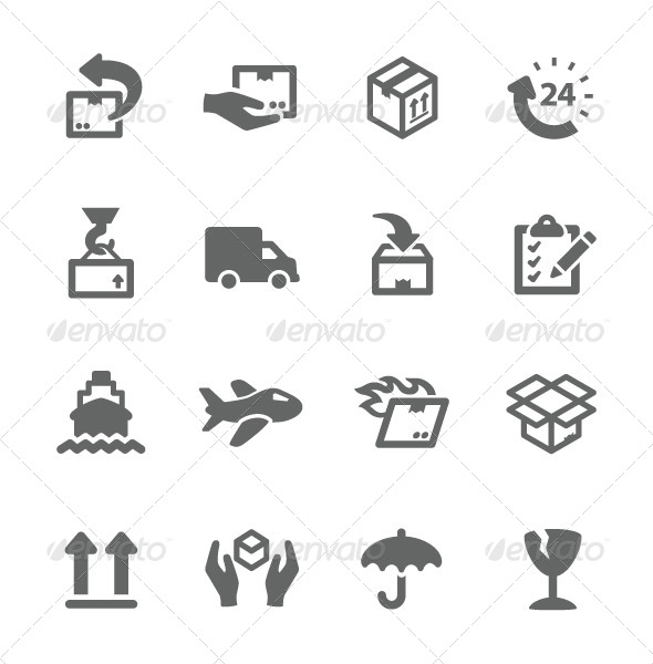 GraphicRiver Shipping Icons 7928760