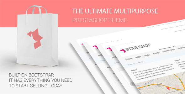 ThemeForest Star Shop Prestashop Shopping Template 7901587