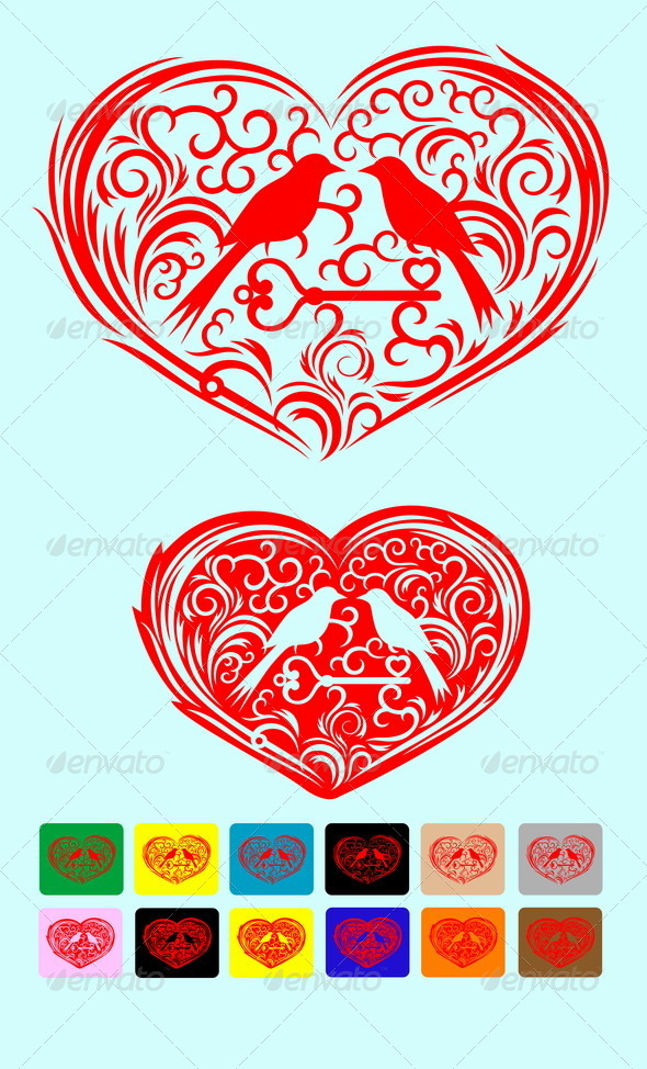 GraphicRiver Heart 7929014