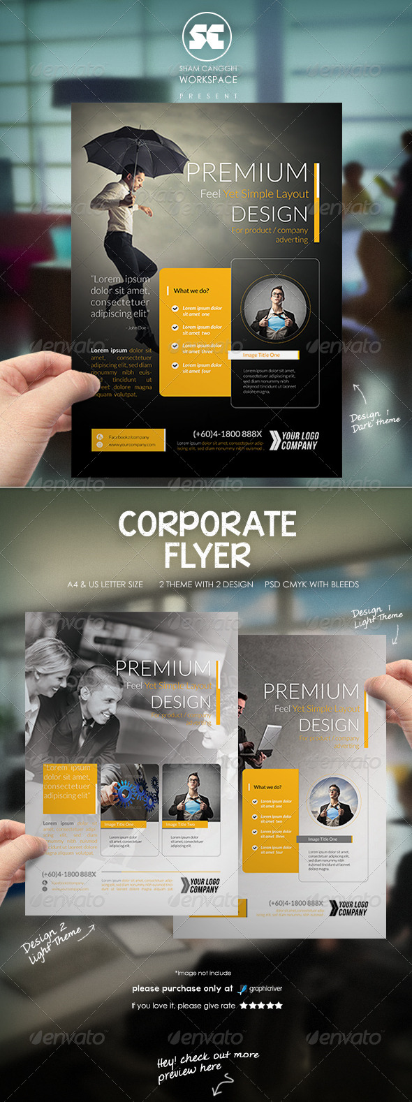 GraphicRiver Modern Corporate Flyer Magazine Ads 7929193