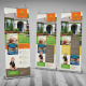 Real Estate And Homescapes Roll-Up Banner - GraphicRiver Item for Sale