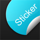 Animated Sticker Button - ActiveDen Item for Sale