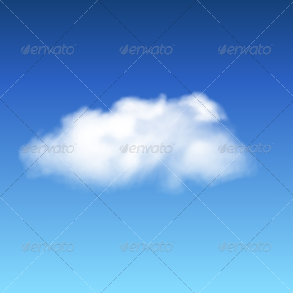 GraphicRiver Lonley Cloud 7929772