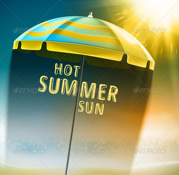 GraphicRiver Hot Summer Sun 7842450