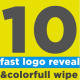 Fast Logo Reveal And Wipe Bundle - VideoHive Item for Sale