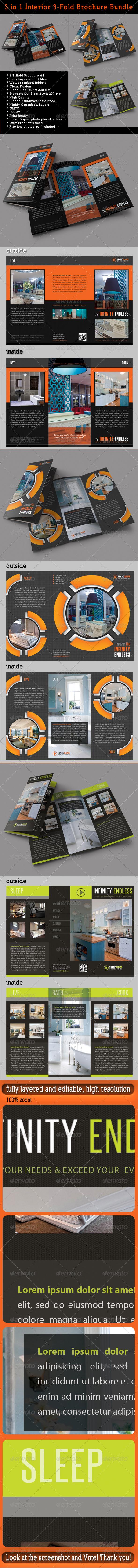 GraphicRiver 3 in 1 Interior 3-Fold Brochure Bundle 02 7930118