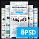 Corporate - Multipurpose B2B E-newsletter Template - GraphicRiver Item for Sale