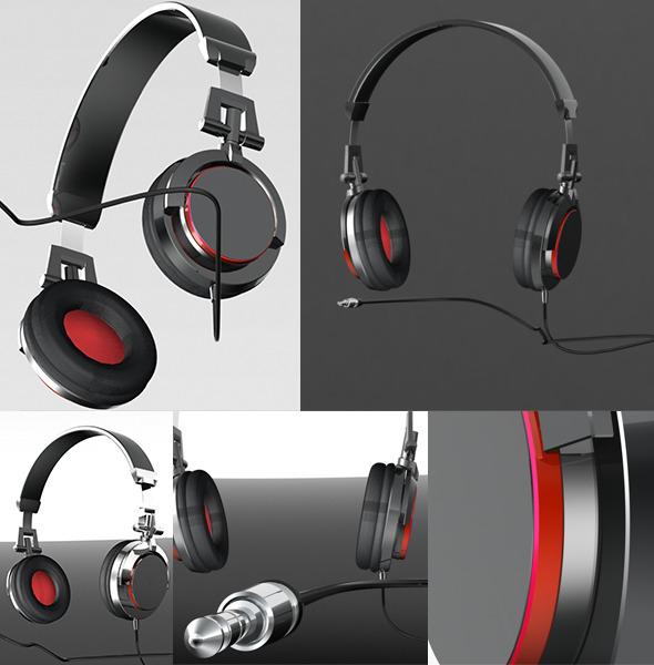 3DOcean Headphone 7930364