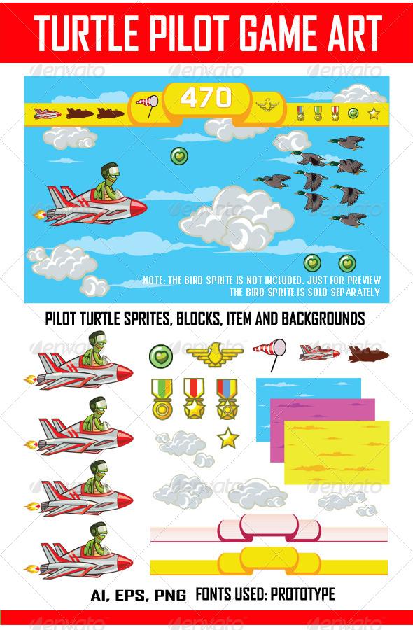 Pilot Turtle Game